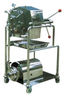 Stainless steel filter press