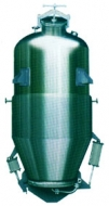 Multi-functional extraction tank-vertical wimble