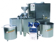 Instantaneous and sanitary (bean curd) soybean milk machine