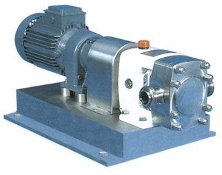 Rotary lobe pump (stainless steel rotor pump) model A