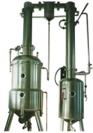 Vacuum concentrated under reduced pressure tank