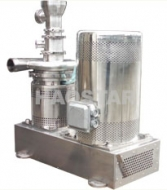 Sanitary efficient emulsifying mixer
